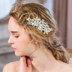 Classic Rhinestone/Imitation Pearls Combs & Barrettes