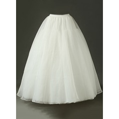 Women Tulle Netting Floor-length Petticoats