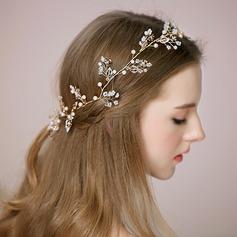 Beautiful/Elegant Alloy/Imitation Pearls Headbands