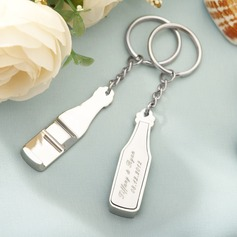 Personalized Zinc Alloy Keychains/Bottle Opener