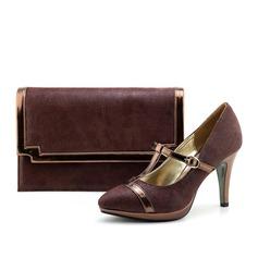Prächtig PU/Stoff Passende Schuhe & Taschen