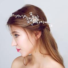 Beautiful Rhinestone/Alloy/Imitation Pearls Headbands