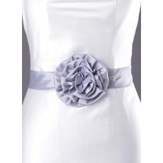 Beautiful Charmeuse Sash With Flower