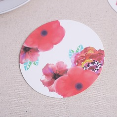 Round High quality paper Coaster