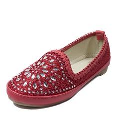 Girl's Baby's Fabric Flat Heel Round Toe Closed Toe Flats