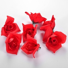 Red Rose Cloth Artificial Flowers Accessories
