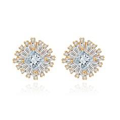 Luxurious Copper Women's/Ladies' Earrings