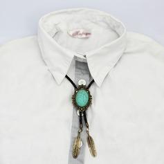 Klassische Art Modern Style Kallaite Alu Bolo Tie