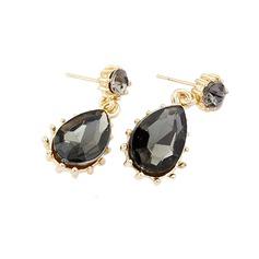Beautiful Alloy/Crystal Ladies' Earrings