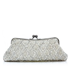 Elegant Satin With Beading/Sequin Clutches