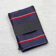 Solid Color Polyester Pocket Square