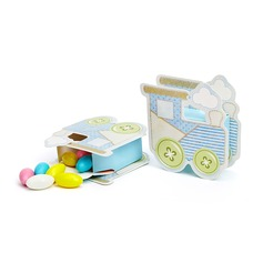 Baby Carriage Favor Boxes