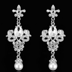 Gorgeous Rhinestones Ladies' Earrings