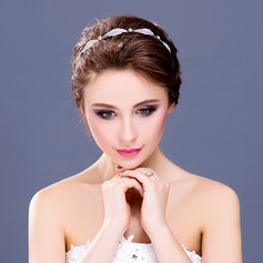"Leaves Shaped Alloy/""A"" Level Rhinestone Headbands"