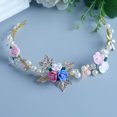 Lovely Alloy/Ceramic/Pearl Headbands