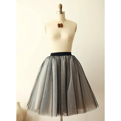 Women Tulle Netting Tea-length Petticoats
