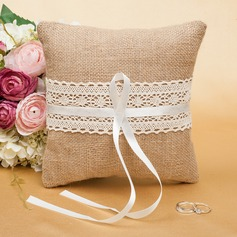 Luxury Ring Pillow With Ribbons/Lace