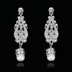 Shining Rhinestones Ladies' Earrings