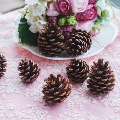 Natural Wooden Pinecone Festival/Wedding Ornaments