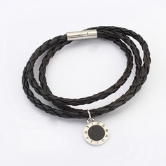 Simple Alloy Leatherette Ladies' Fashion Bracelets