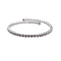 Bangles & Cuffs Alloy/Rhinestones Bracelets