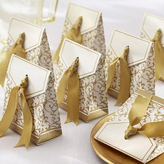 50th Anniversary Favor Box With Gold Ribbon (Set of 12) (050005516)
