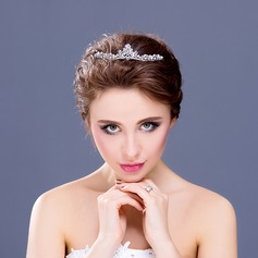 "Shining Crystal/Alloy/""A"" Level Rhinestone Tiaras"