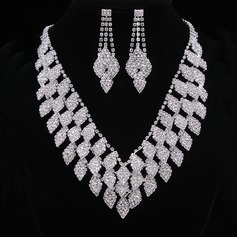 Fashional Alloy/Rhinestones Women's/Ladies' Jewelry Sets