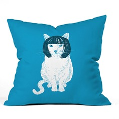 Modern/Contemporary Office/Business Casual Cartoon Cotton Velvet Pillows & Throws (Sold in a single piece)