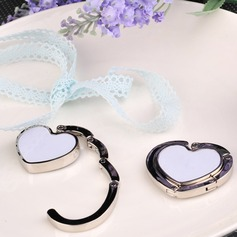 Heart Shaped Zinc Alloy Purse Valets