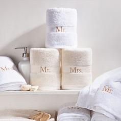 """""""Mr. & Mrs."""" Cotton Towel"""