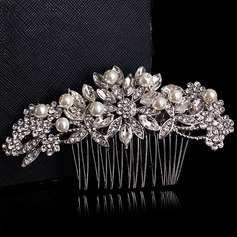 Glamourous Alloy/Silver Plated Combs & Barrettes