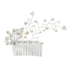 Gorgeous Alloy Pearl Hair Combs