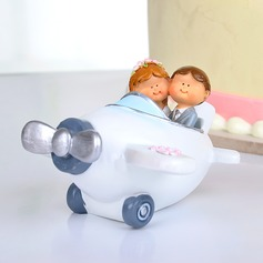 Airplane Resin Wedding Cake Topper