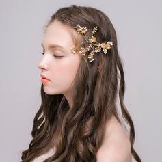 Lovely Rhinestone/Alloy/Imitation Pearls Hairpins