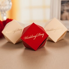 """Wedding Day"" Favor Boxes (Set of 12)"