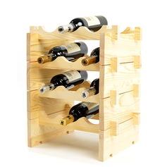 Klassische Art Holz Flaschenhalter / Weinregal