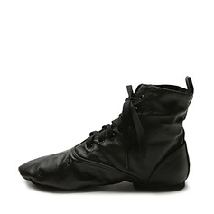 Real Leather Boots Jazz Ballroom Dance Shoes