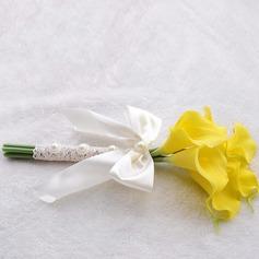 Sweet Foam/Ribbon Bridesmaid Bouquets