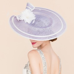 Ladies' Unique Cambric With Silk Flower Fascinators/Bowler/Cloche Hat