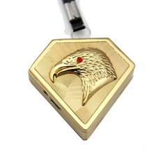 Personalized Eagle Design Stainless Steel Electronic Lighter