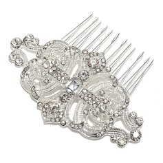 Charming Rhinestone/Alloy Combs & Barrettes