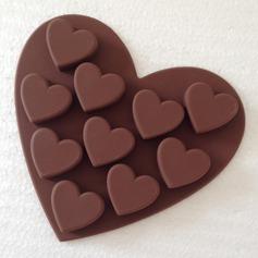 Hjerteformede Silikon Kake Mold