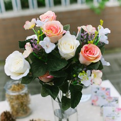 Fancy Satin Decorations/Wedding Table Flowers