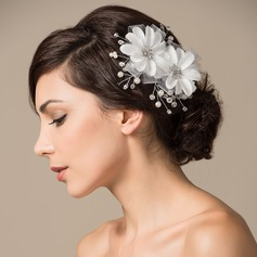Gorgeous Artificial Silk Flowers & Feathers