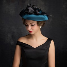 Dames Style Classique Feather/Fil net/Tulle avec Feather Chapeaux de type fascinator