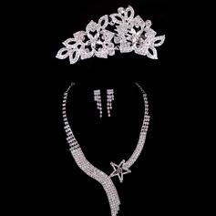 Fashional Alloy/Rhinestones Ladies' Jewelry Sets