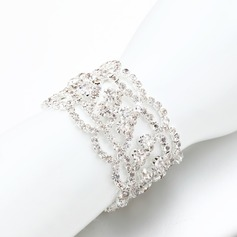 Sparking Alloy/Rhinestones Ladies' Bracelets