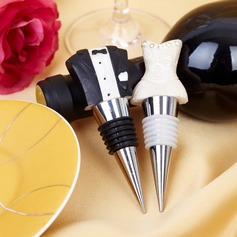 Bride & Groom Bottle Stoppers