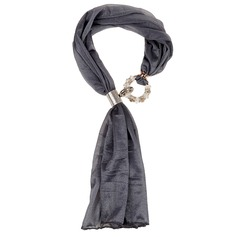 Solid Color Neck Scarves